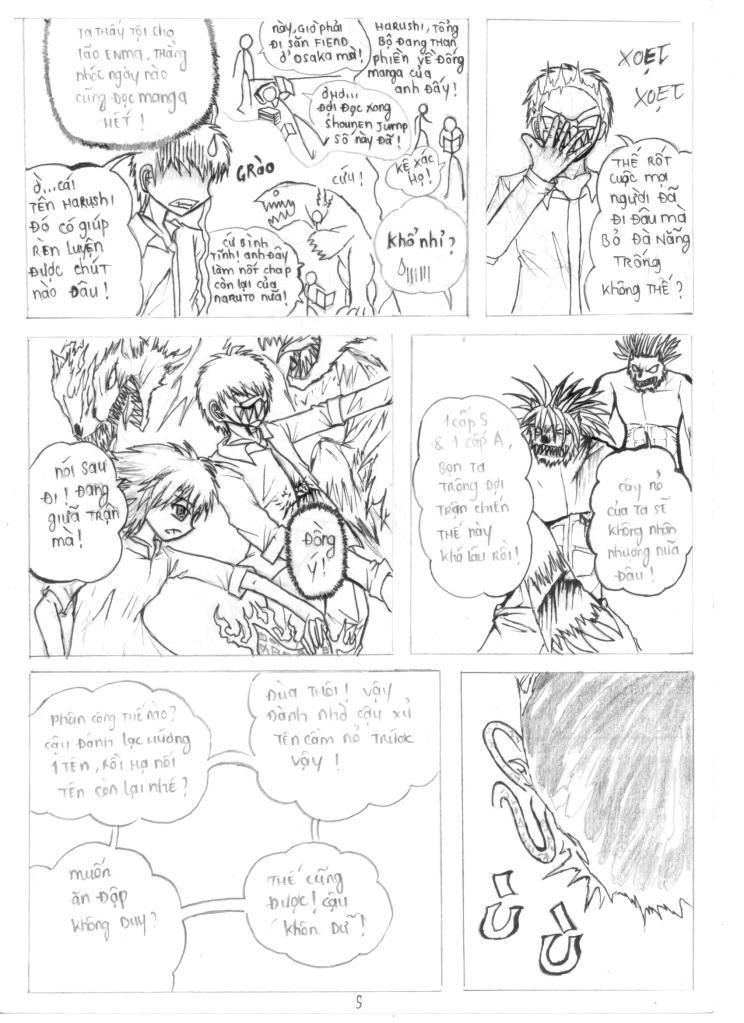 MASK The FiendHunter chap 2 - Trang 6