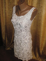 Платье наборное кружево