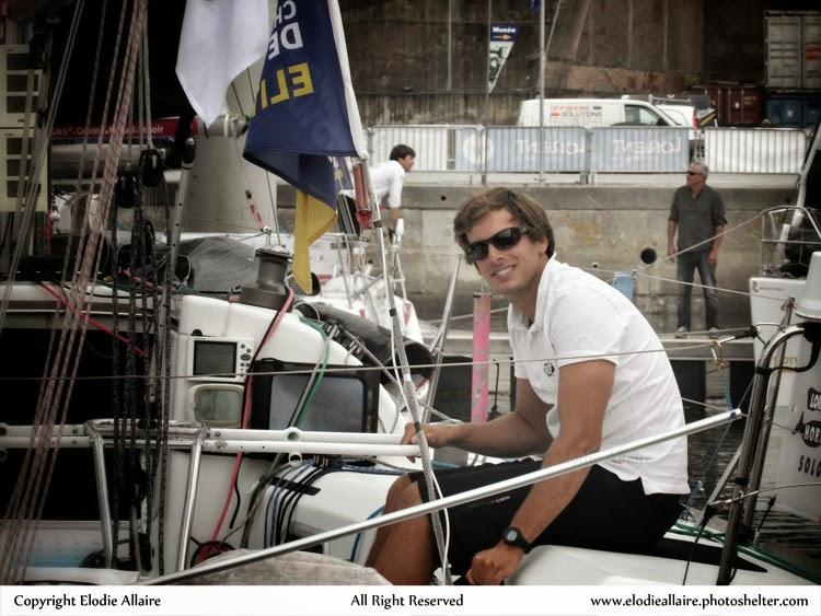 Charlie Dalin champion de France de course au large 2014 !