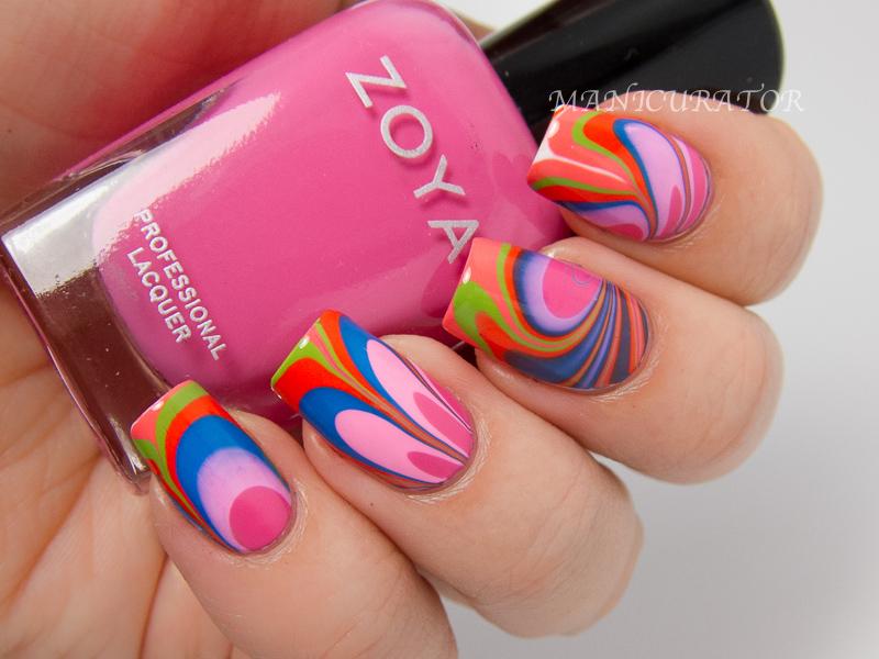 Zoya-Tickled-Watermarble-Nail-Art-Rooney