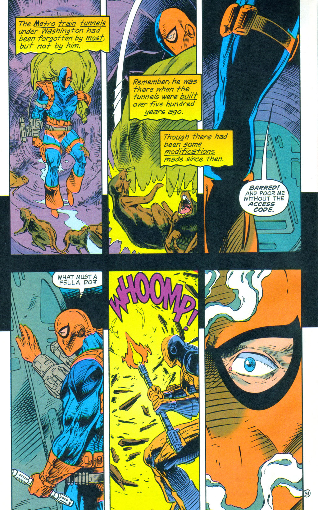 Deathstroke (1991) Annual 3 #3 - English 32