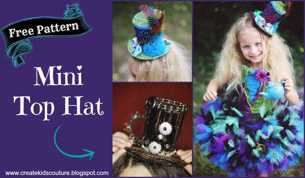 Create Kids Couture: Mini Top Hat