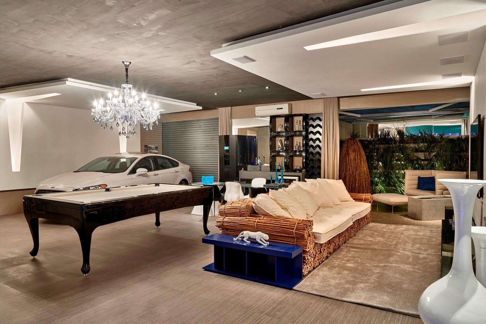 Os cinco ambientes mais bonitos da Casa Cor 2014 Brasília Pop  #226B71 1600 1067