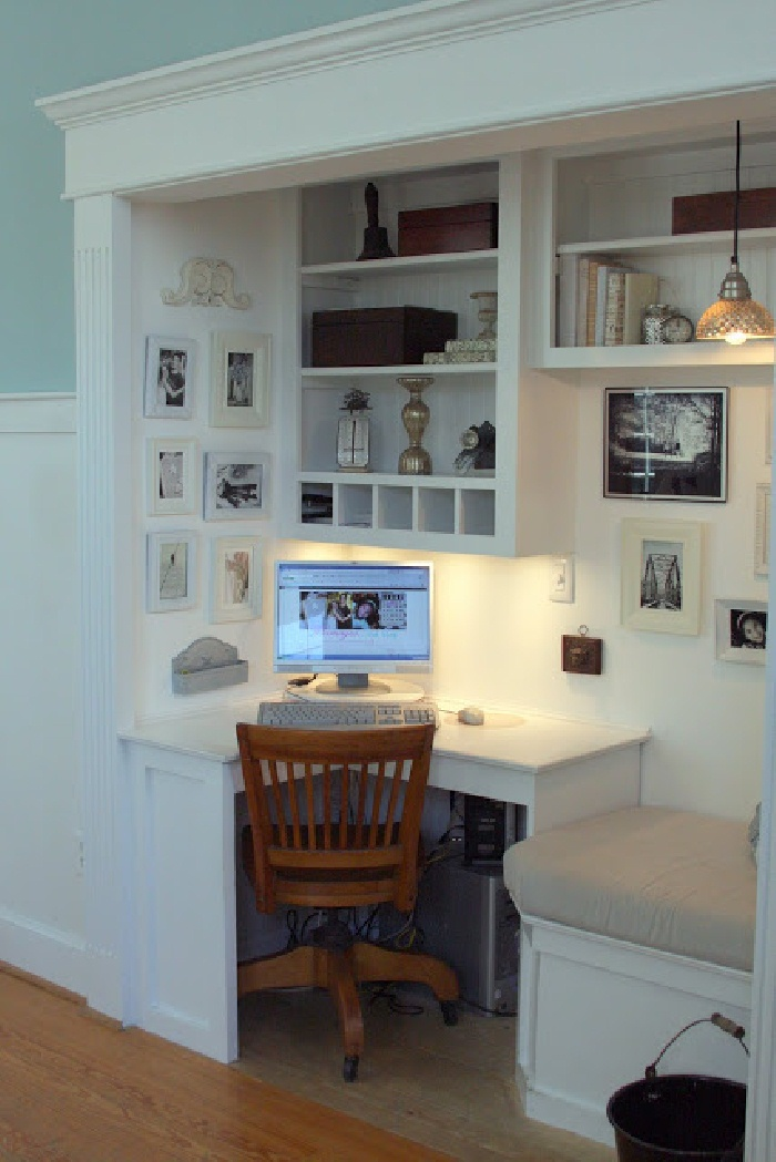 desk home office idea http://www.aniamaluje.com/