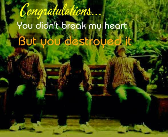 you break my heart quotes status