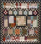 Happy Scrappy Spring  by The Painted Quilt
