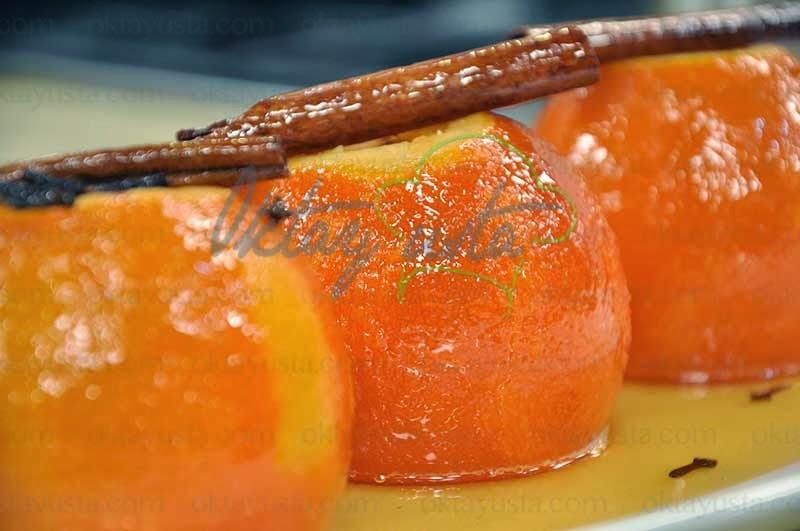 Portakal Reçeli Tarifi Yapımı