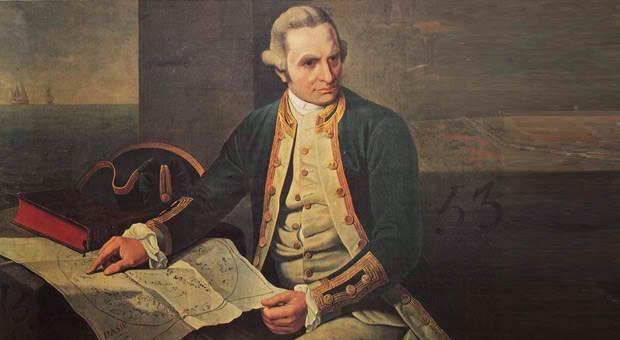 Captain Cook discovered Australia.