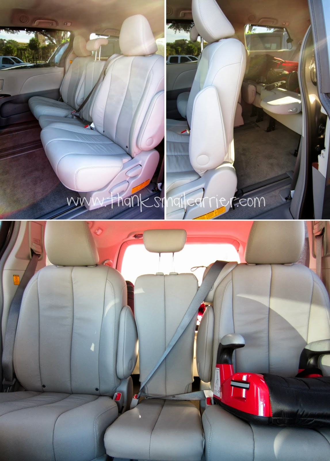 Toyota Sienna seating