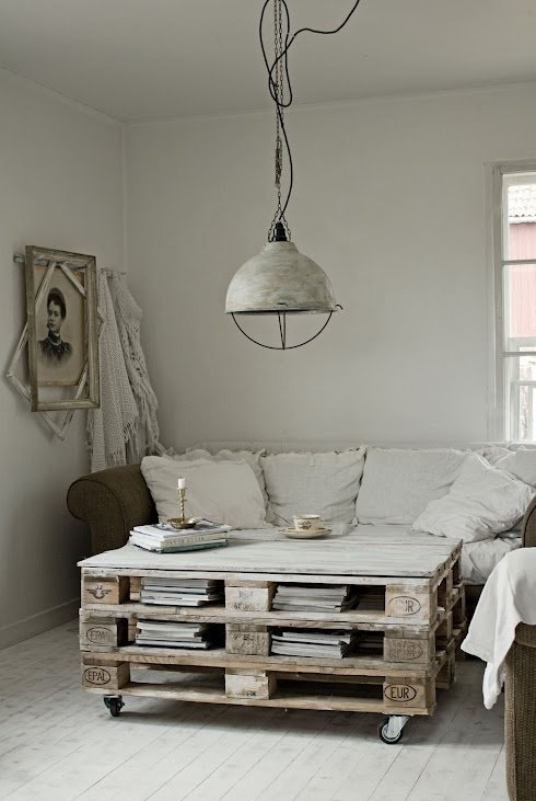 Relas decorare con pallet riciclo molto creativo e funzionale - Deco lounge hout ...