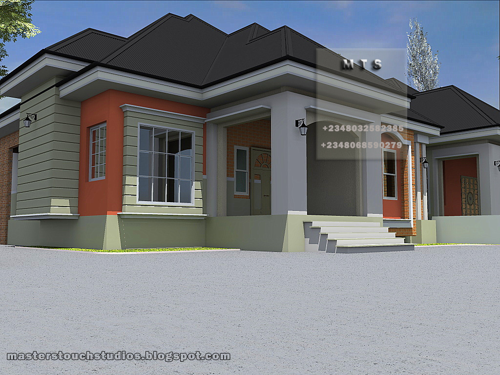 6 Bedroom Bungalow House Plans In Nigeria Modern House