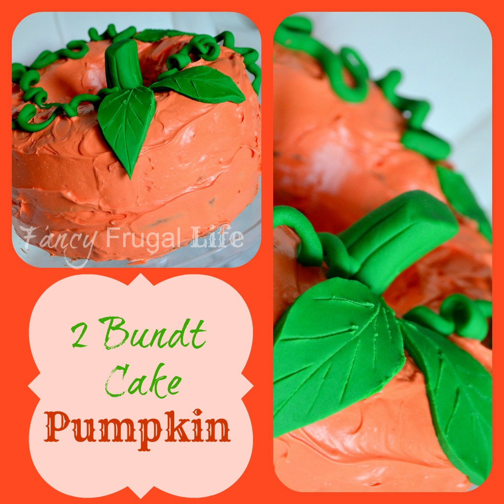 Cakewalk Cakes: Two Bundt Cake Pumpkin & Spider Web Cake |