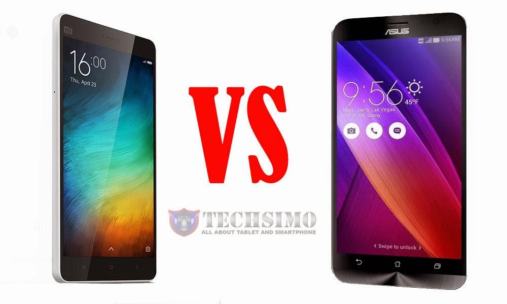 Asus Zenfone 2 versi 2 GB VS Xiaomi MI4i,harga 2,5 jutaan mana yang lebih tangguh?