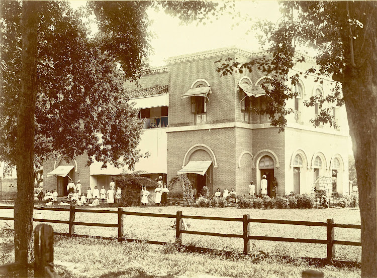 Government Aided English School at Jamalpur, Bihar - c1897
