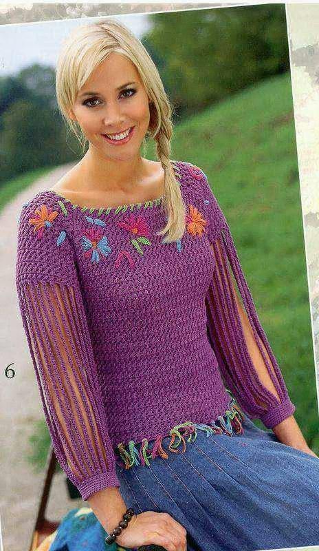 Купить Пуловер Вязаный Доставка