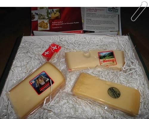 Schweizer Käse - Appenzeller - Emmentaler und Sbrinz AOP