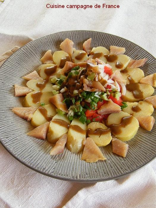cuisine et campagne de france salade de pommes de terre aux harengs. Black Bedroom Furniture Sets. Home Design Ideas