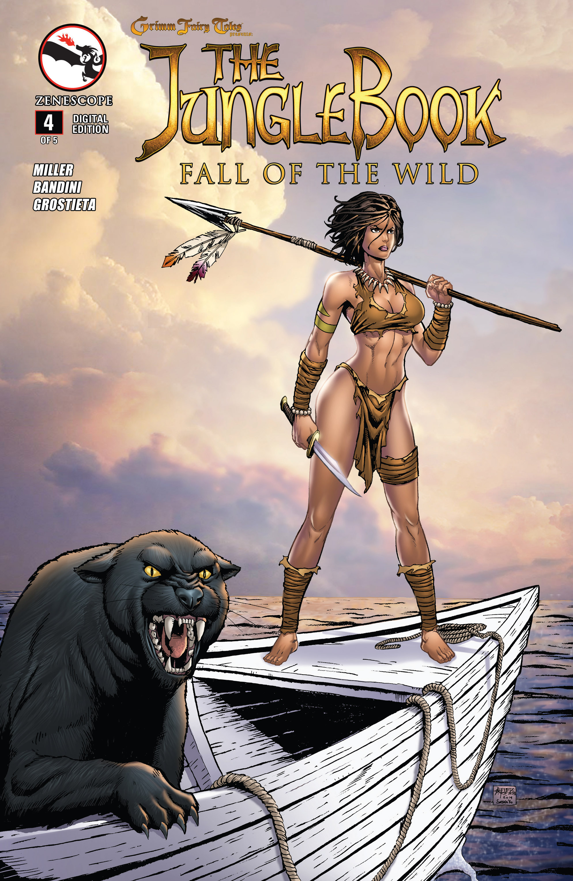Grimm Fairy Tales presents The Jungle Book: Fall of the Wild 4 Page 1