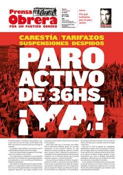 - - - - - - - Prensa Obrera Nº 1540 - - - - - - -