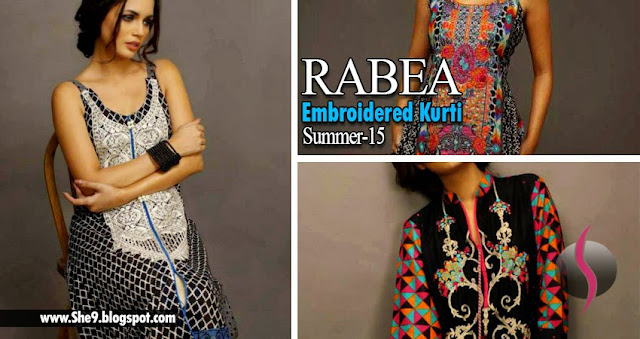 Rabea Embroidered Kurti for Summer