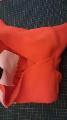 einfaches Kostüm nähen Kostüm selbst nähen Fuchskostüm nähen DIY Faschingskostüm