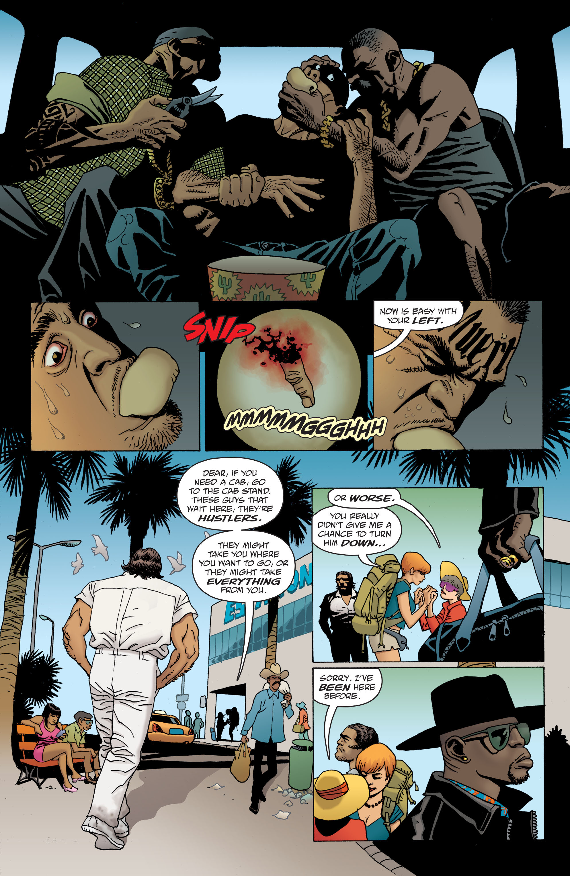 100 Bullets: Brother Lono Full Page 25