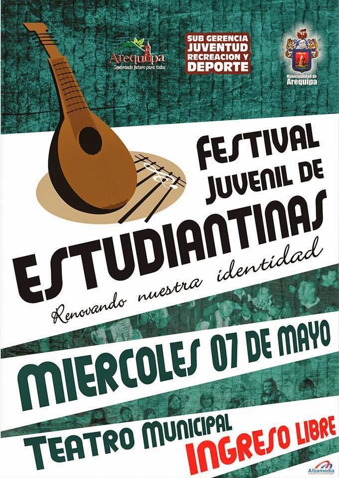 Festival juvenil de estudiantinas - 07 de mayo