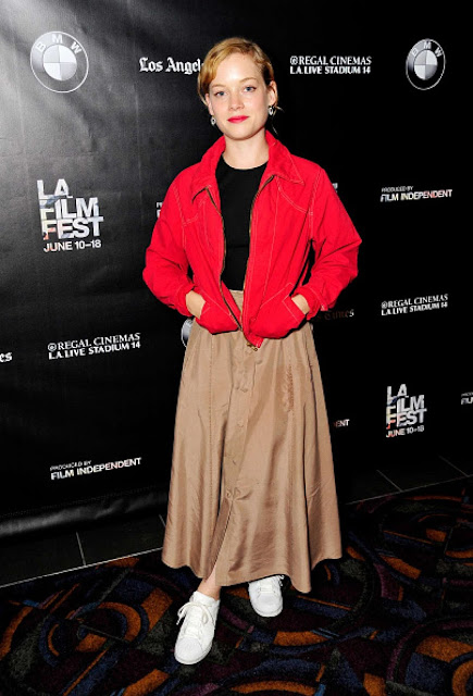 Actress @ Jane Levy - Frank and Cindy Screening at LA Film Festival