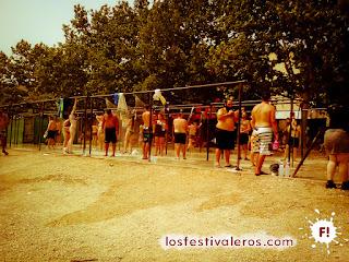 Duchas. Público. Festival Leyendas del Rock 2015.