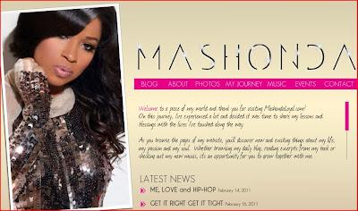 News // Mashonda Lance Son Site Web, Son Livre Et Son Emission Sur VH1