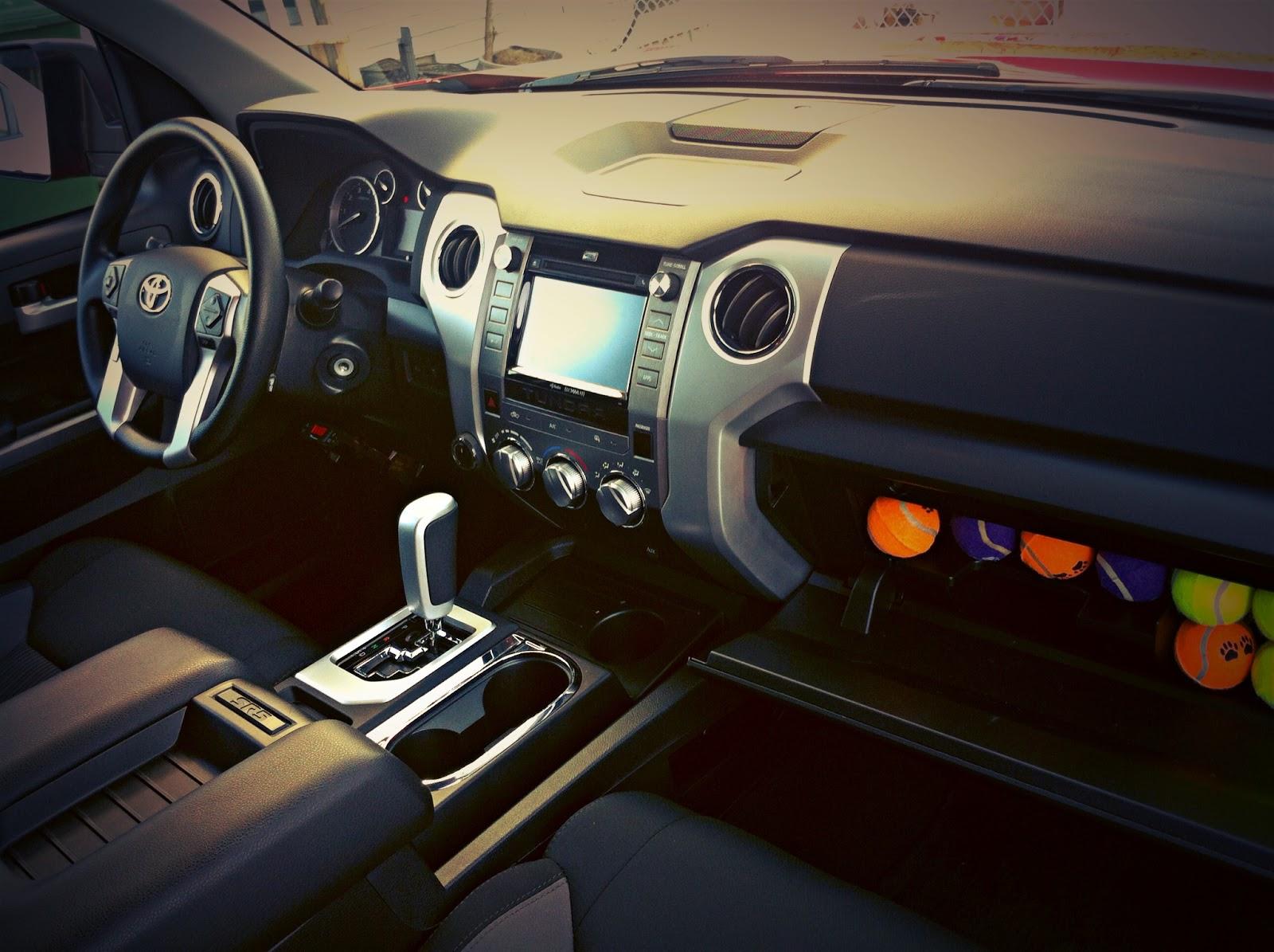 2014 Toyota Tundra SR TRD interior