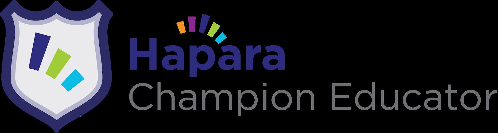 2020 Hapara Champion Educator