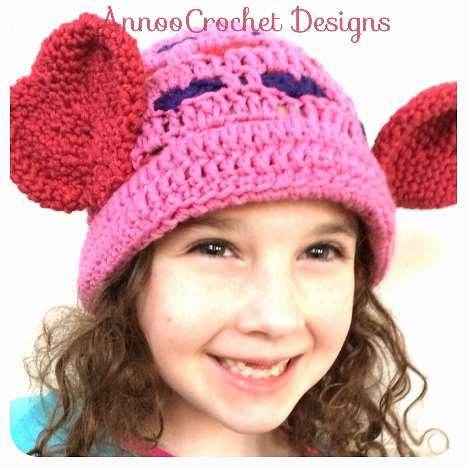 Annoo\'s Crochet World: Valentine Hat Free Pattern