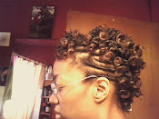Flat Coil Twist W/Bantu Knot-Out