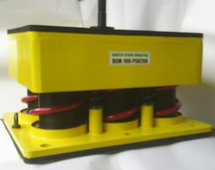 HEAVY DUTY DAMPED SPRING MOUNTING