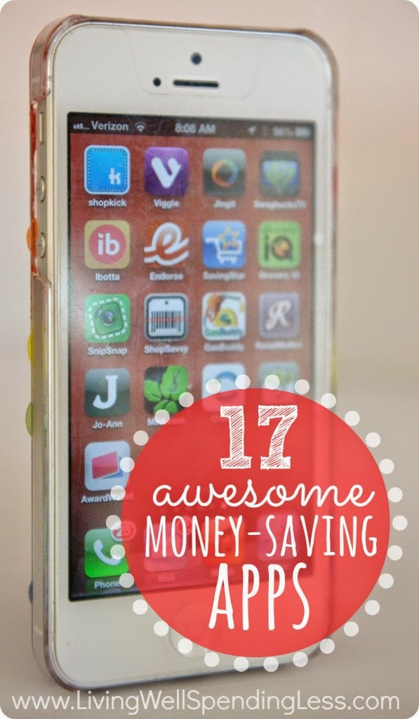 17 Awesome Money Saving Apps