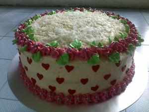 kek perkhwinan anje
