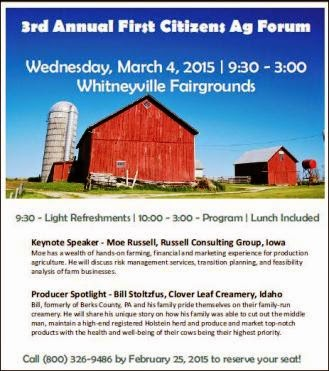 3-4 3rd Annual First Citizens Ag Forum