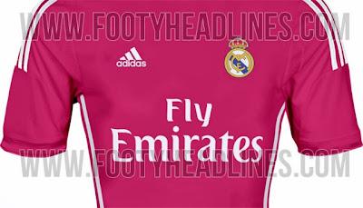 ¿adidas viste de rosa al Real Madrid para la próxima temporada?