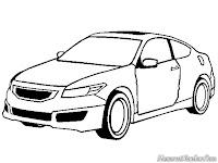 Mewarnai Mobil Honda Accord Coupe Mugen