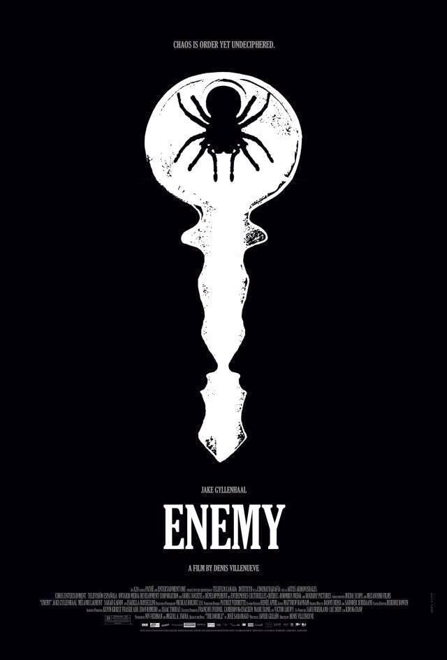 Enemy affiche araignée