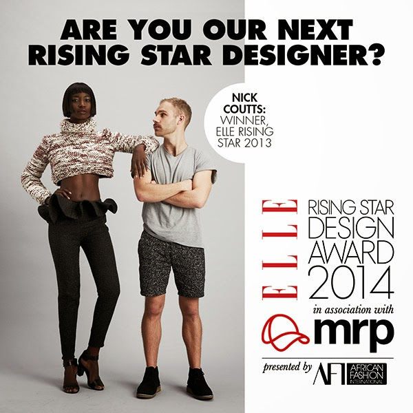 ELLE RISING STAR DESIGN AWARD 2014 COMPETITION