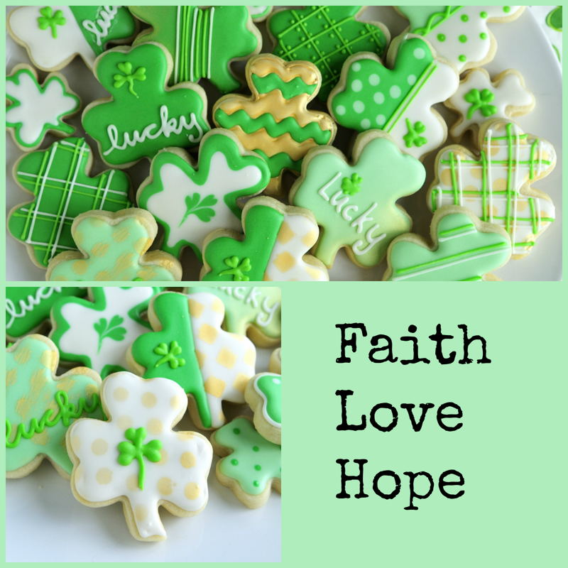 Shamrock Cookies » With Sprinkles on Top