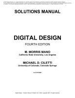 Digital Design 4th Edition