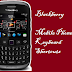 Keyboard shortcuts for blackberry mobile/smart phone