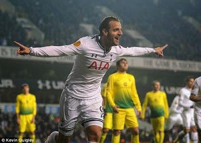 Xem lại đầy đủ trận Tottenham vs Anzhi
