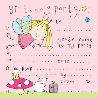 Cute Fairy Birthday Party Invitation by Best Gift Ideas