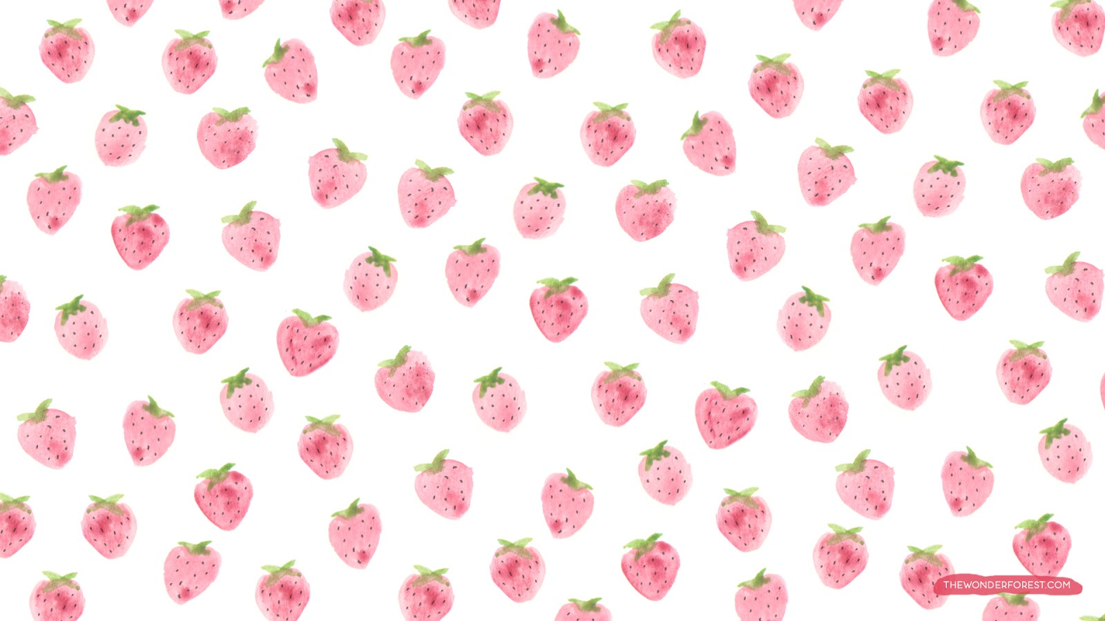 cute strawberry wallpaper all hd wallpapers
