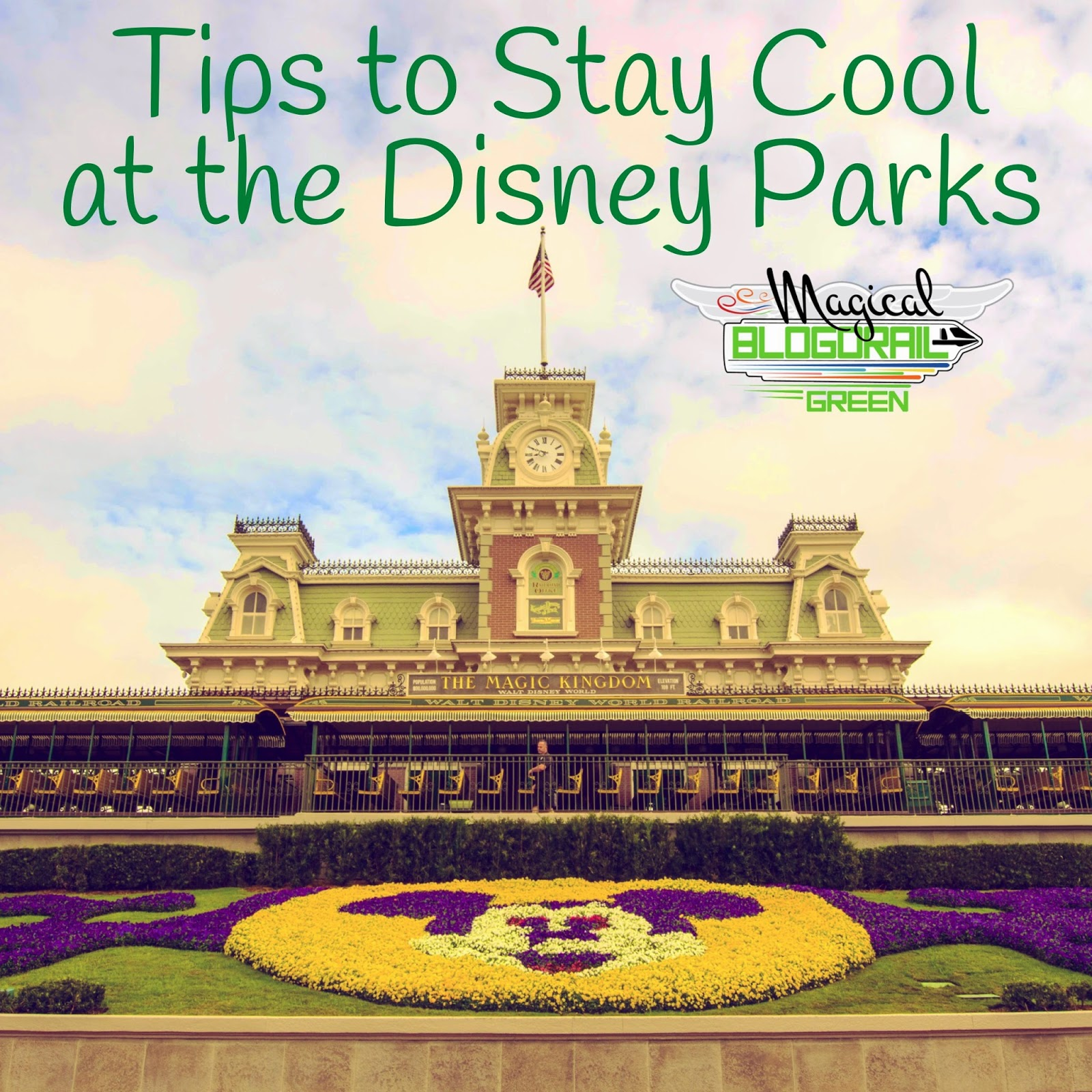 sharing ways to stay cool when you are visiting Disney this summer