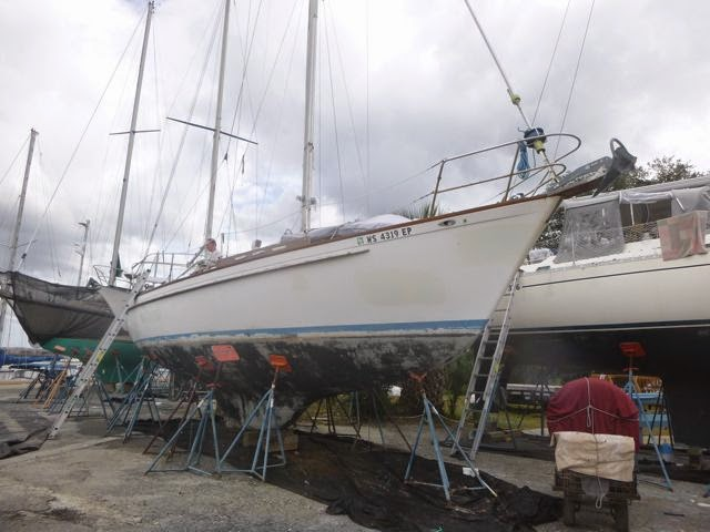 sailing away boat maintenance